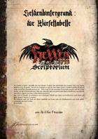 Heldenhintergrund die Würfeltabelle - Hexxen 1733
