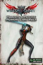 Wrath & Glory - Talents & Psychic Powers Card Pack