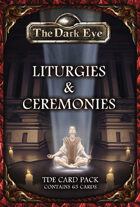 The Dark Eye - Liturgies & Ceremonies Cards