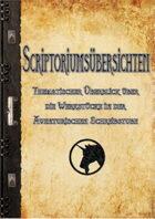 Scriptoriumsübersichten