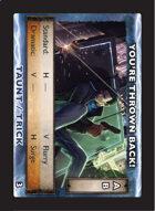 Torg Eternity - Drama Card - You're Thrown Back!
