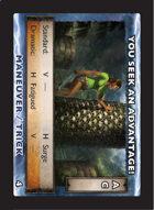 Torg Eternity - Drama Card - You Seek an Advantage!