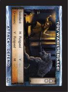 Torg Eternity - Drama Card - You Warily Engage!