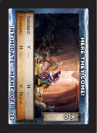 Torg Eternity - Drama Card - Here They Come!