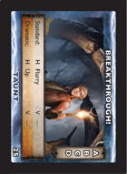 Torg Eternity - Drama Card - Breakthrough!