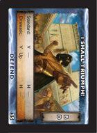 Torg Eternity - Drama Card - I shall Triumph!