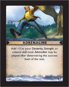 Torg Eternity - Destiny Card - Adrenaline 2