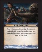Torg Eternity - Destiny Card - Adrenaline 4