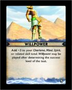 Torg Eternity - Destiny Card - Willpower 5