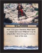 Torg Eternity - Destiny Card - Willpower 6