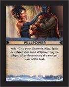 Torg Eternity - Destiny Card - Willpower 8