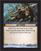 Torg Eternity - Destiny Card - Action 12