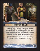 Torg Eternity - Destiny Card - Master Plan 18
