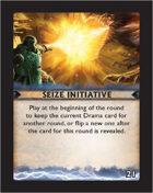 Torg Eternity - Destiny Card - Seize Initiative 21