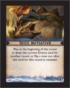 Torg Eternity - Destiny Card - Seize Initiative 22