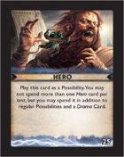 Torg Eternity - Destiny Card - Hero 25