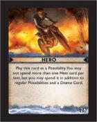 Torg Eternity - Destiny Card - Hero 26