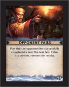 Torg Eternity - Destiny Card - Opponent Fails 27