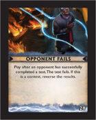 Torg Eternity - Destiny Card - Opponent Fails 28