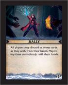 Torg Eternity - Destiny Card - Rally