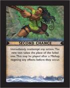 Torg Eternity - Destiny Card - Second Chance 30