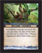 Torg Eternity - Destiny Card - Second Chance 32