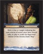 Torg Eternity - Destiny Card - Idea