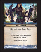 Torg Eternity - Destiny Card - Attuned