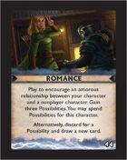 Torg Eternity - Destiny Card - Romance