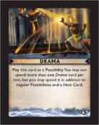 Torg Eternity - Destiny Card - Drama 47