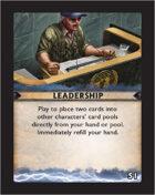 Torg Eternity - Destiny Card - Leadership 51