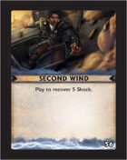 Torg Eternity - Destiny Card - Second Wind 56