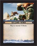 Torg Eternity - Destiny Card - Second Wind 57