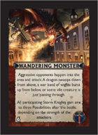 Torg Eternity - Aysle Cosm Card - Wandering Monster