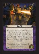 Torg Eternity - Cyberpapacy Cosm Card - Rage