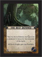 Torg Eternity - Living Land Cosm Card - The Best Defense