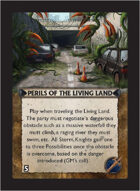 Torg Eternity - Living Land Cosm Card - Perils of the Living Land