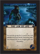 Torg Eternity - Living Land Cosm Card - The Law of Life