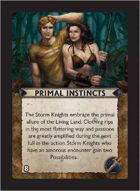 Torg Eternity - Living Land Cosm Card - Primal Instincts