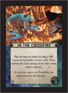 Torg Eternity - Nile Empire Cosm Card - In the Crossfire