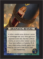 Torg Eternity - Nile Empire Cosm Card - Dramatic Reveal