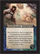 Torg Eternity - Nile Empire Cosm Card - Temporary Reprieve