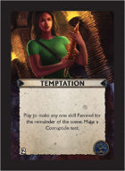 Torg Eternity - Orrorsh Cosm Card - Temptation