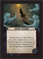 Torg Eternity - Orrorsh Cosm Card - Jump Scare