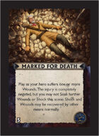 Torg Eternity - Orrorsh Cosm Card - Marked for Death