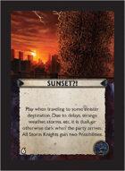 Torg Eternity - Orrorsh Cosm Card - Sunset?!
