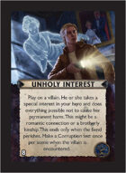 Torg Eternity - Orrorsh Cosm Card - Unholy Interest