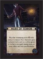 Torg Eternity - Orrorsh Cosm Card - Mark of Terror