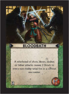 Torg Eternity - Pan-Pacifica Cosm Card - Bloodbath