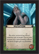 Torg Eternity - Pan-Pacifica Cosm Card - Mutation